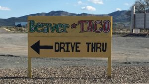 Tacos, Beaver, UT, Utah, Rv Life, Travel, Tourism, Tourist, Drive thru, Food.