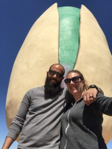 pistachio, Giant, Road life, Roadside Attractions, 5th Wheel, RV, Tavel