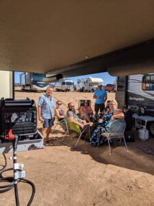 Friends, NM, New Mexico, xscapers, xscapers conversion, RV life, RV
