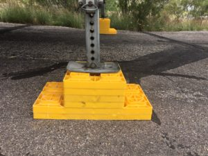 Leveling blocks, RV life, RV. Travel Trailer, Motorhome. Travel trailer life, motorhome life. camco leveling blocks, yellow blocks