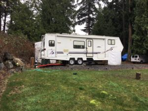 rv, lake, green, grass, hookup, WA