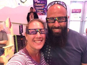 Meow Wolf, Santa Fe, New Mexico, NM, Entertainment, Glasses, Goofy, 3d, 3d world.