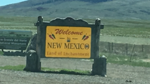 NM, New mexico, rv travel, rv life, rv living, rv travel, Welcome to New Mexico, Welcome Sign, State sign, state boarders,
