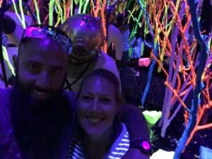real life fish tank, fish tank, santa fe, NM, New Mexico, meow wolf, entertainment, art, exhibit.