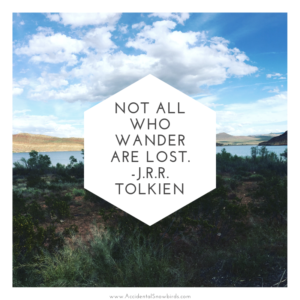 Not All Who Wander Are Lost, J.R.R. Tolkien quote, inspiration, nomad life, digital nomad, life on the road, road life, RV life, quotes, inspirational quotes, life quotes, author, story, life story, traveling, traveling life, lifestyle